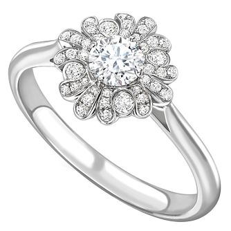 Jan Maarten Asscher 18ct White Gold 1.50ct Diamond Ring - Product number 4805089