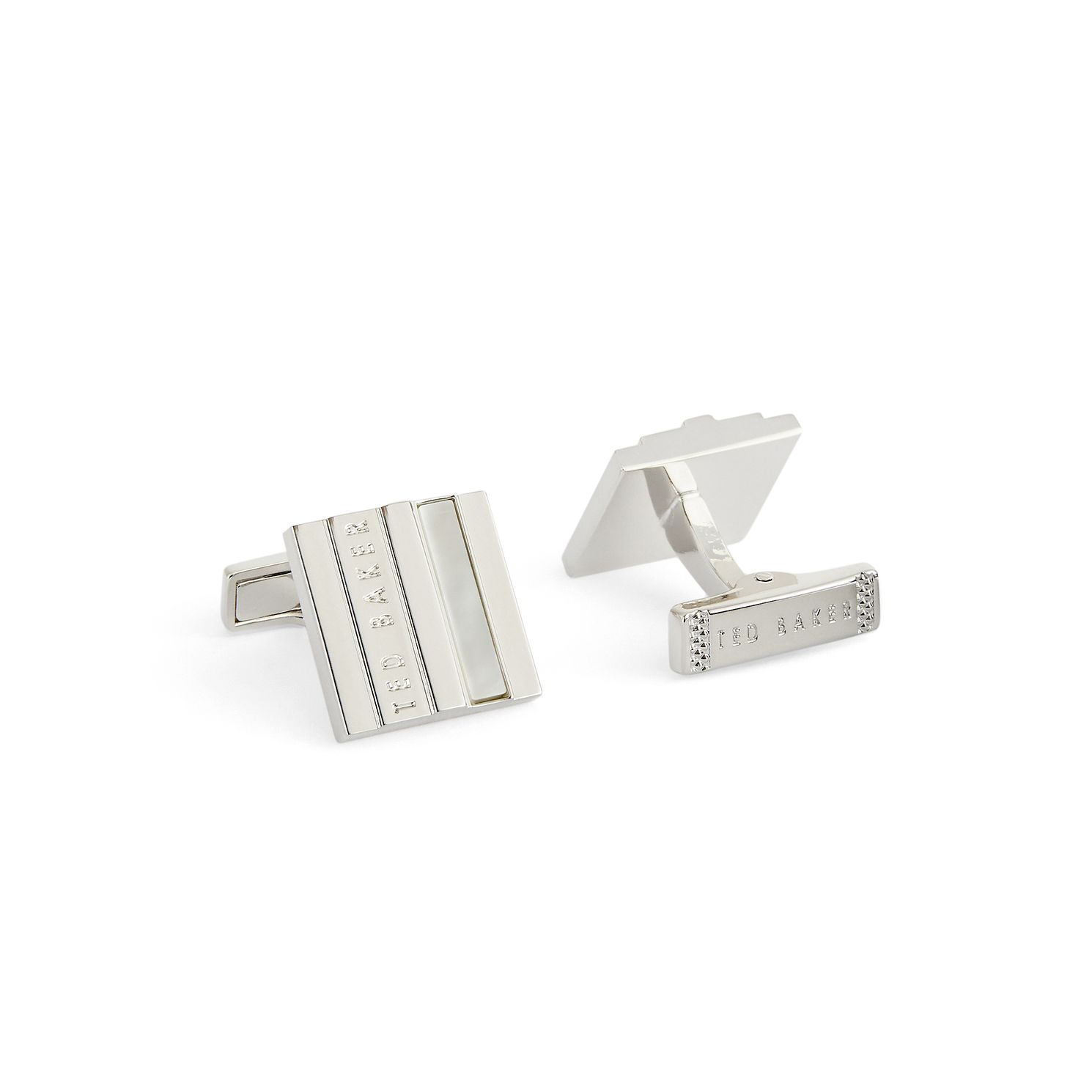 Ted Baker Pamel Men's Mother-Of-Pearl Square Cufflinks - Product number 4817583