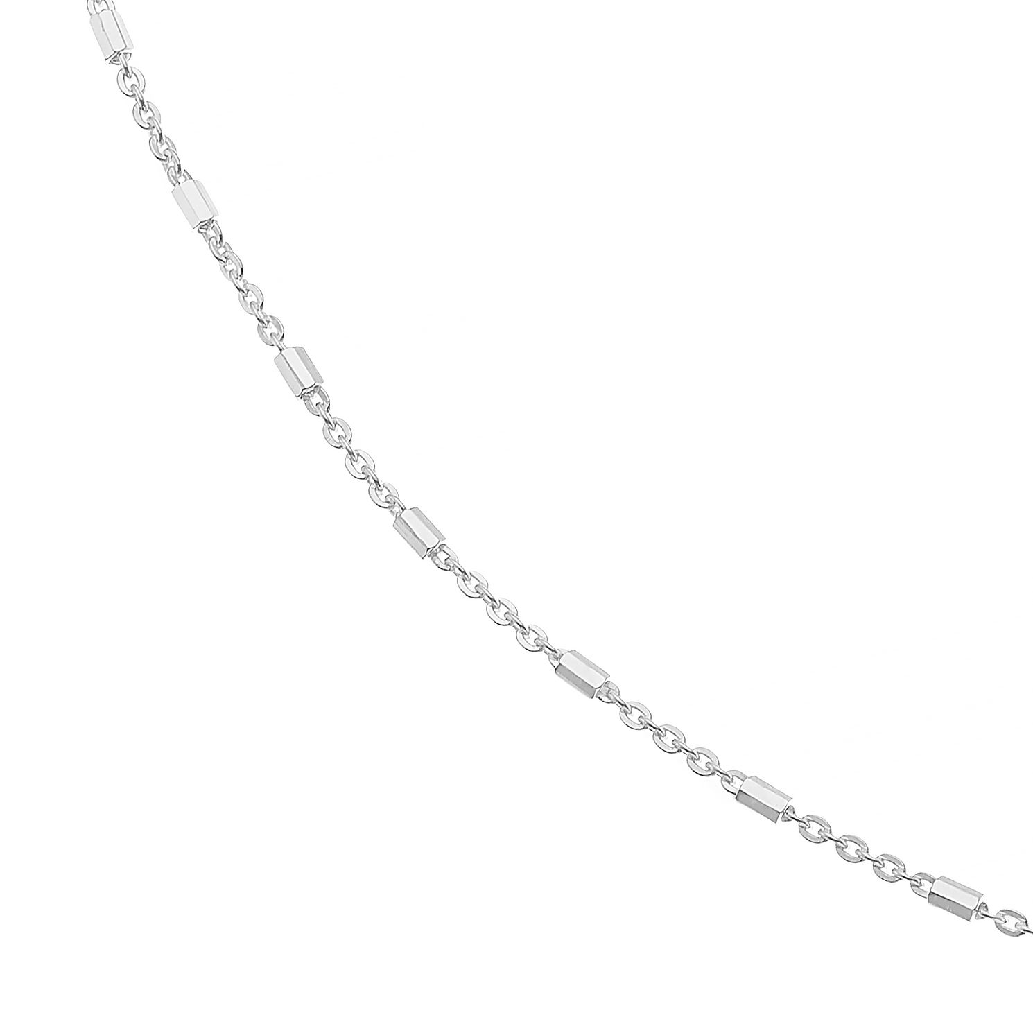 Sterling Silver 16 Inch Bar Trace Chain - Product number 4819489