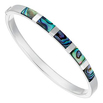 Silver Abalone Bangle - Product number 4819594
