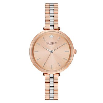 Kate Spade Holland Ladies' Two Colour Strap Watch - Product number 4832981