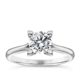 Platinum 1ct Diamond Solitaire Ring - Product number 4834313