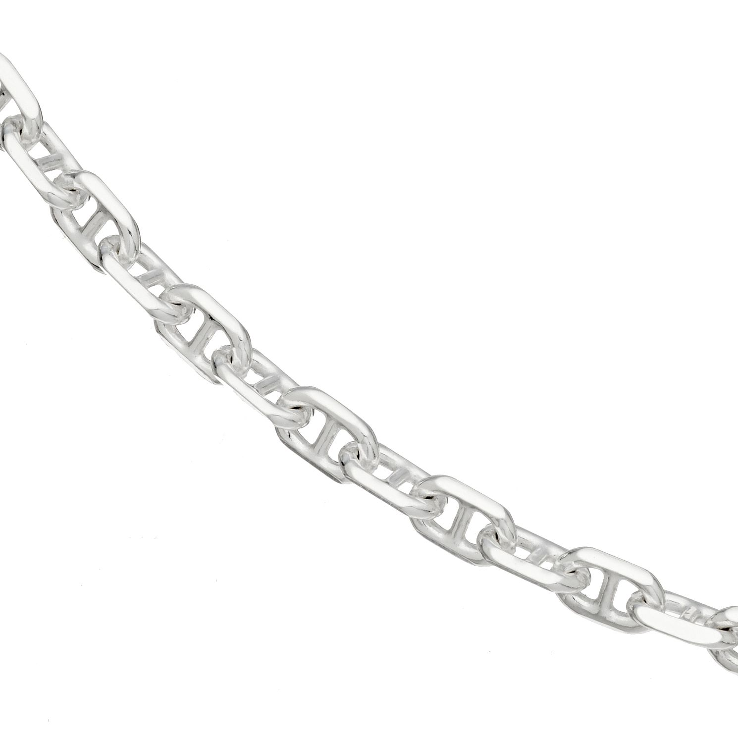 Silver Marina Chain Necklace 18 inches - 100g - Product number 4841549