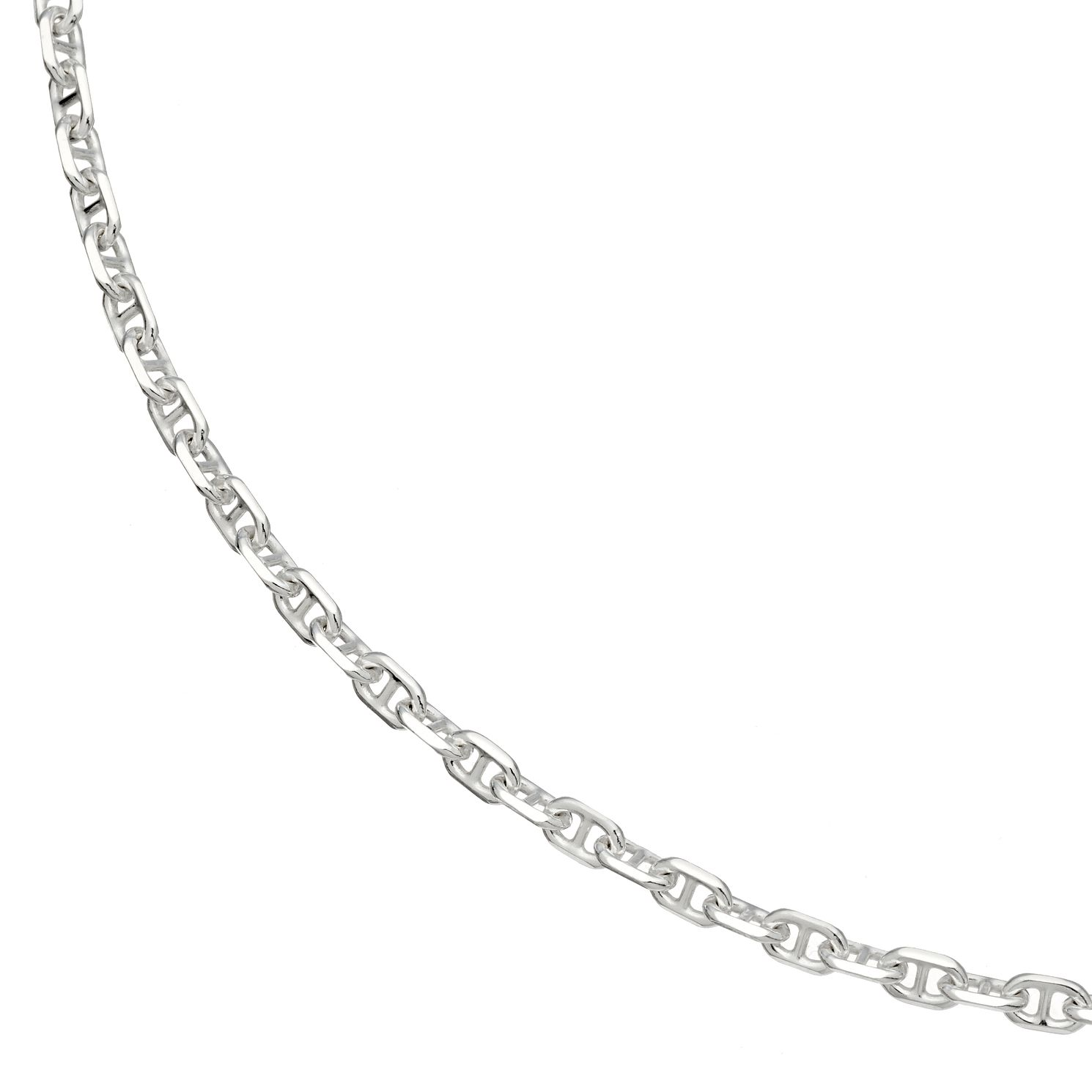 Silver Marina Chain Necklace 20 inches - Product number 4841557