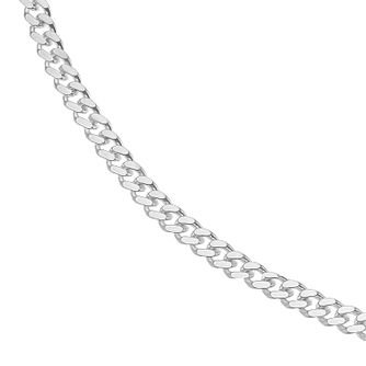 Silver 24 inches Curb Chain Necklace - Product number 4841573