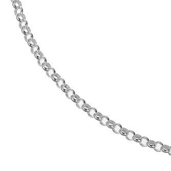 Sterling Silver 18 Inch Belcher Chain - Product number 4841646