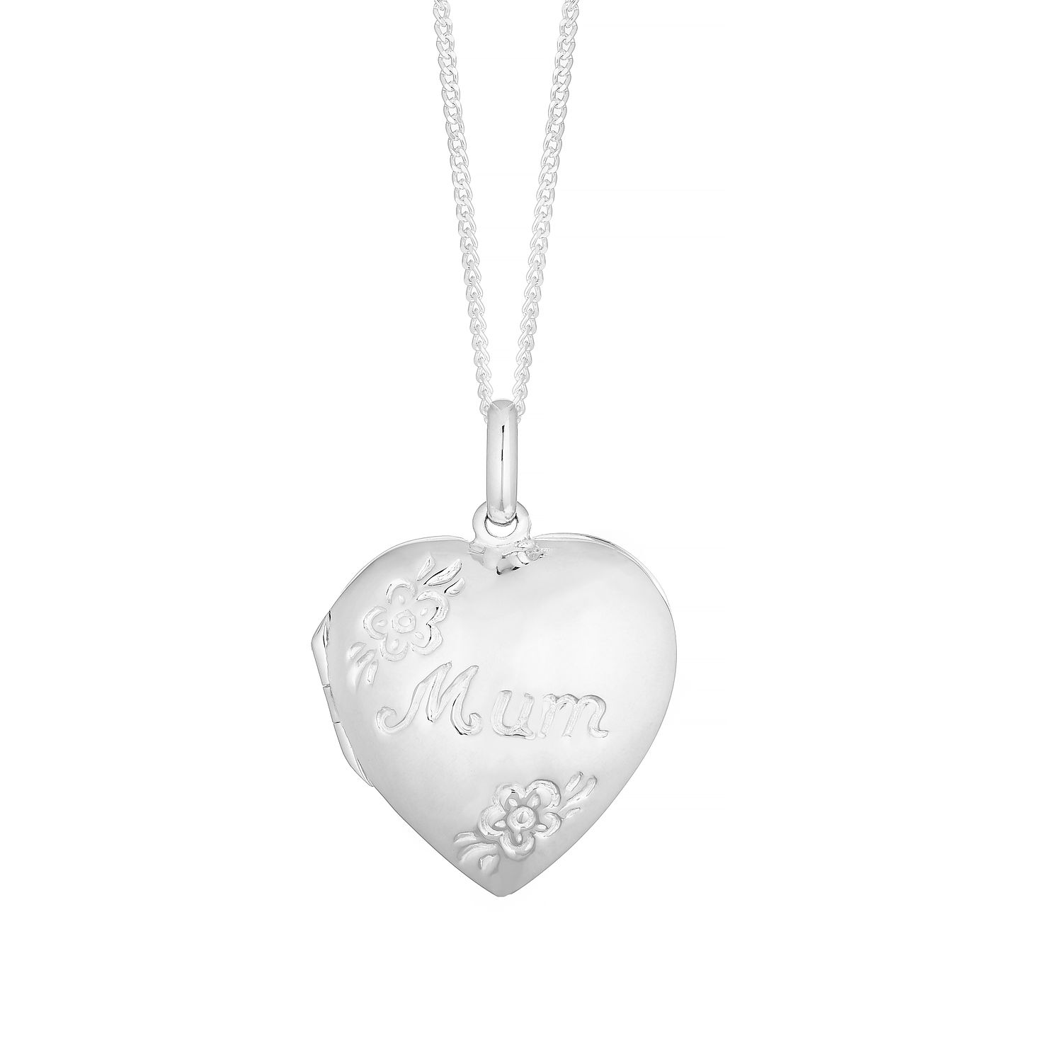 Silver Mum Heart Locket - Product number 4842685