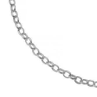 Silver Heart T-Bar 18 inches Chain Necklace - Product number 4842928