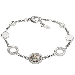 Fossil Stainless Steel Stone Set Bracelet - Product number 4843010