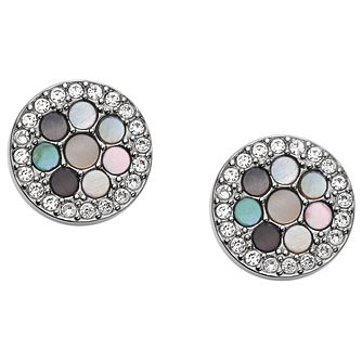 Fossil Stainless Steel Mother Of Pearl Earrings - Product number 4843045