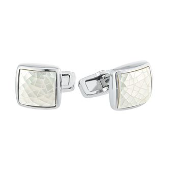 Hugo Boss Men's Stainless Steel Cufflinks - Product number 4843711