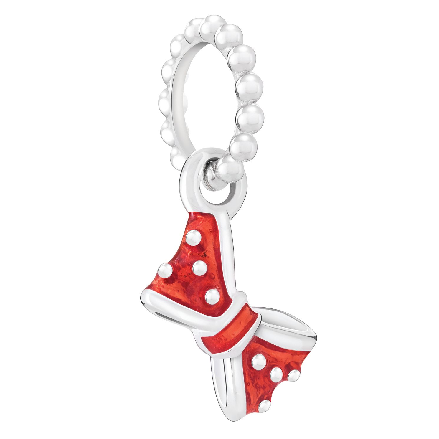 Chamilia Disney Minnie Petite Bow Charm with Crimson Enamel - Product number 4844092