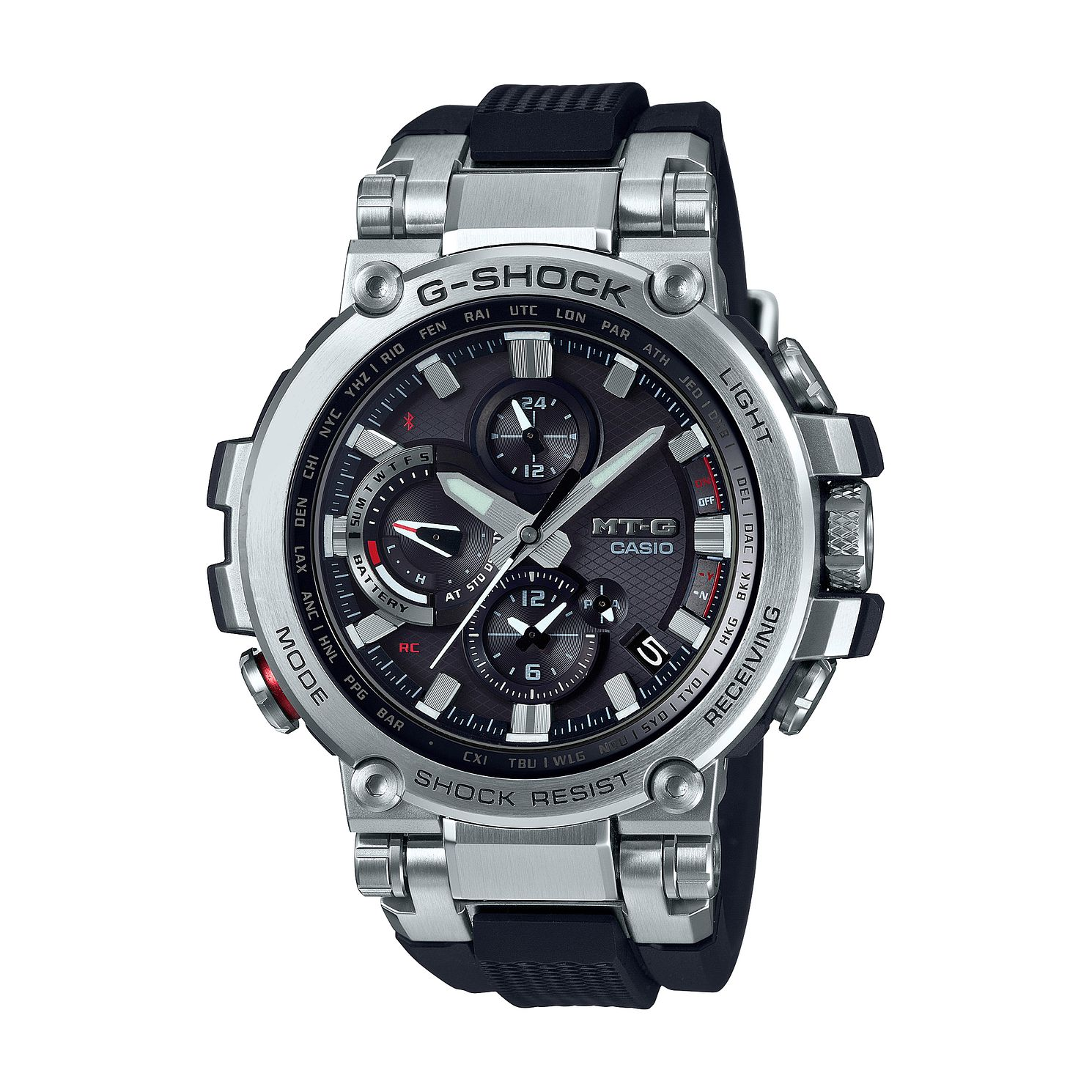 Casio G-Shock MTG-B1000-1AER Black Silicone Strap Watch - Product number 4845277