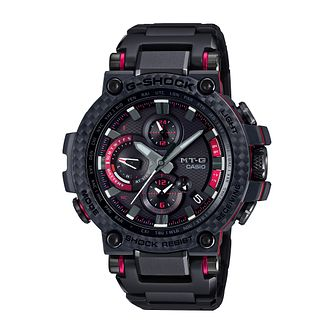 Casio G-Shock Slimline MTG Men's Black IP Bracelet Watch - Product number 4845404