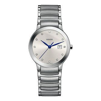 Rado Centrix Diamonds Ladies' Stainless Steel Bracelet Watch - Product number 4845498