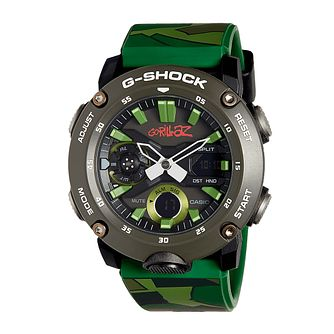Casio G-Shock Limited Edition Gorillaz Camo Strap Watch - Product number 4846516