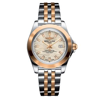 Breitling Galactic Ladies' Two Tone Bracelet Watch - Product number 4850130