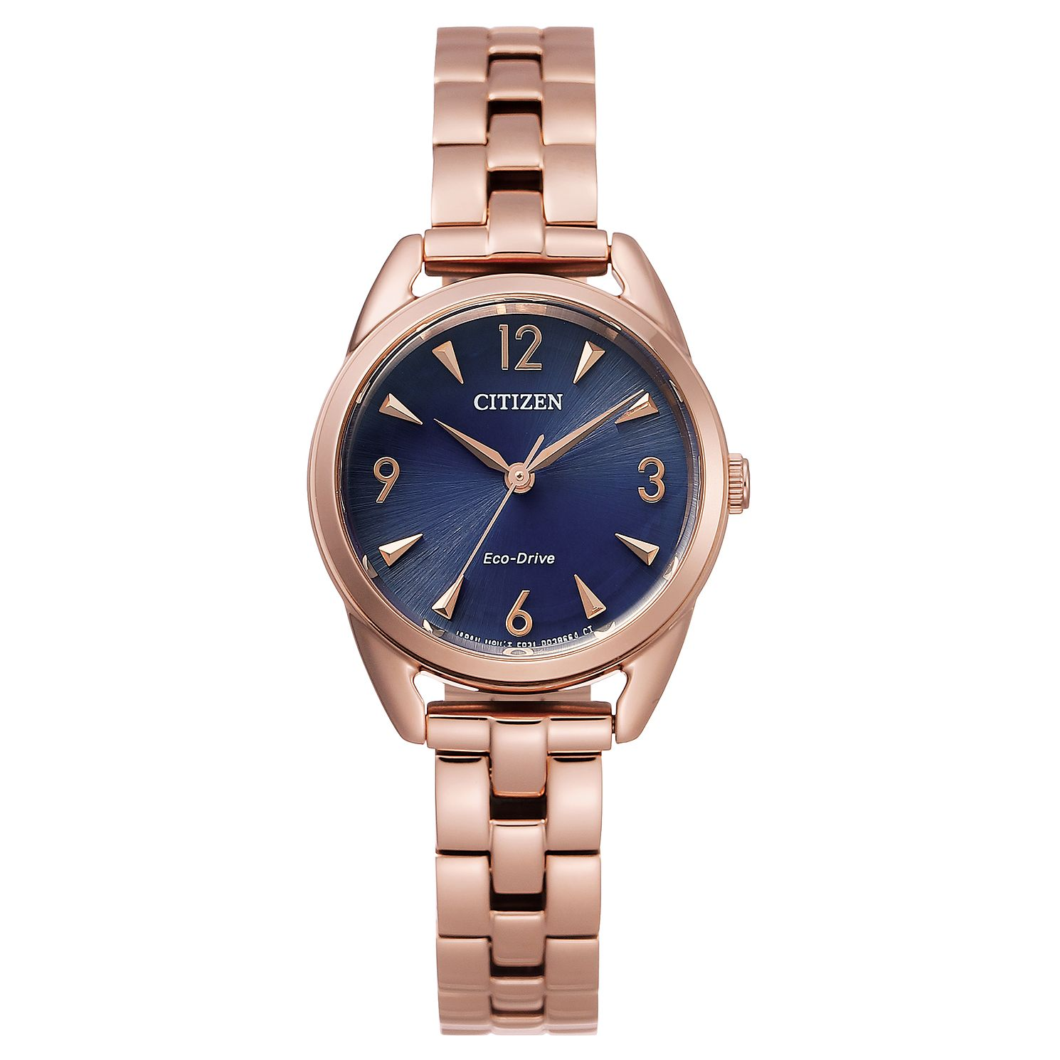 Citizen Eco-Drive Silhouette Rose Gold Tone Bracelet Watch - Product number 4850181