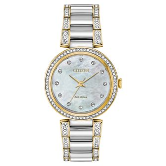 Citizen Silhouette Crystal Silver Tone Watch - Product number 4850343
