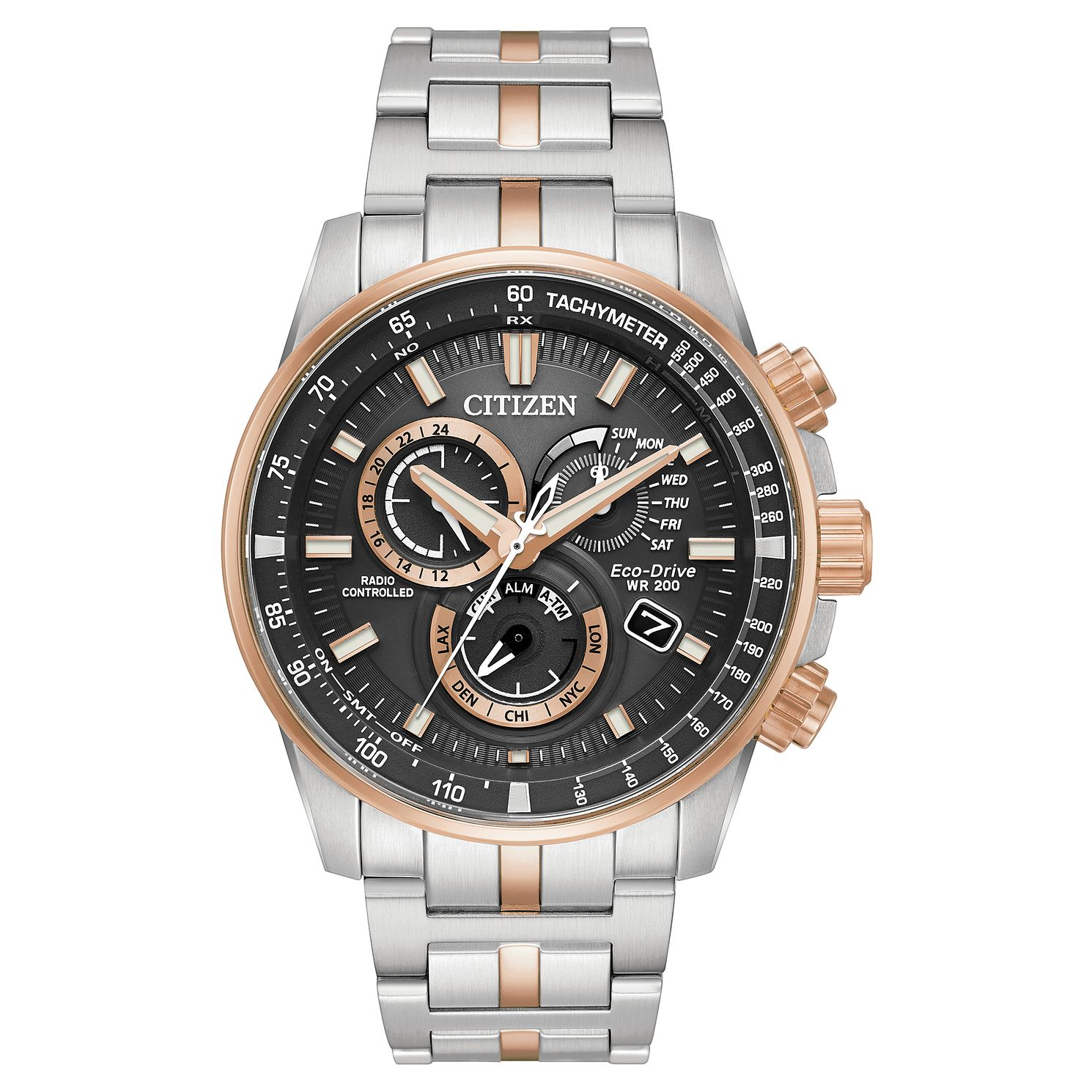 Citizen Eco-Drive Chronograph Bracelet Watch - Product number 4850777