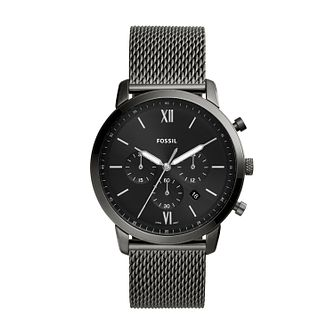Fossil Men's Neutra Black Mesh Bracelet Watch - Product number 4852036