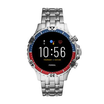 Fossil Classic Stainless Steel Bracelet Smartwatch - Product number 4852087