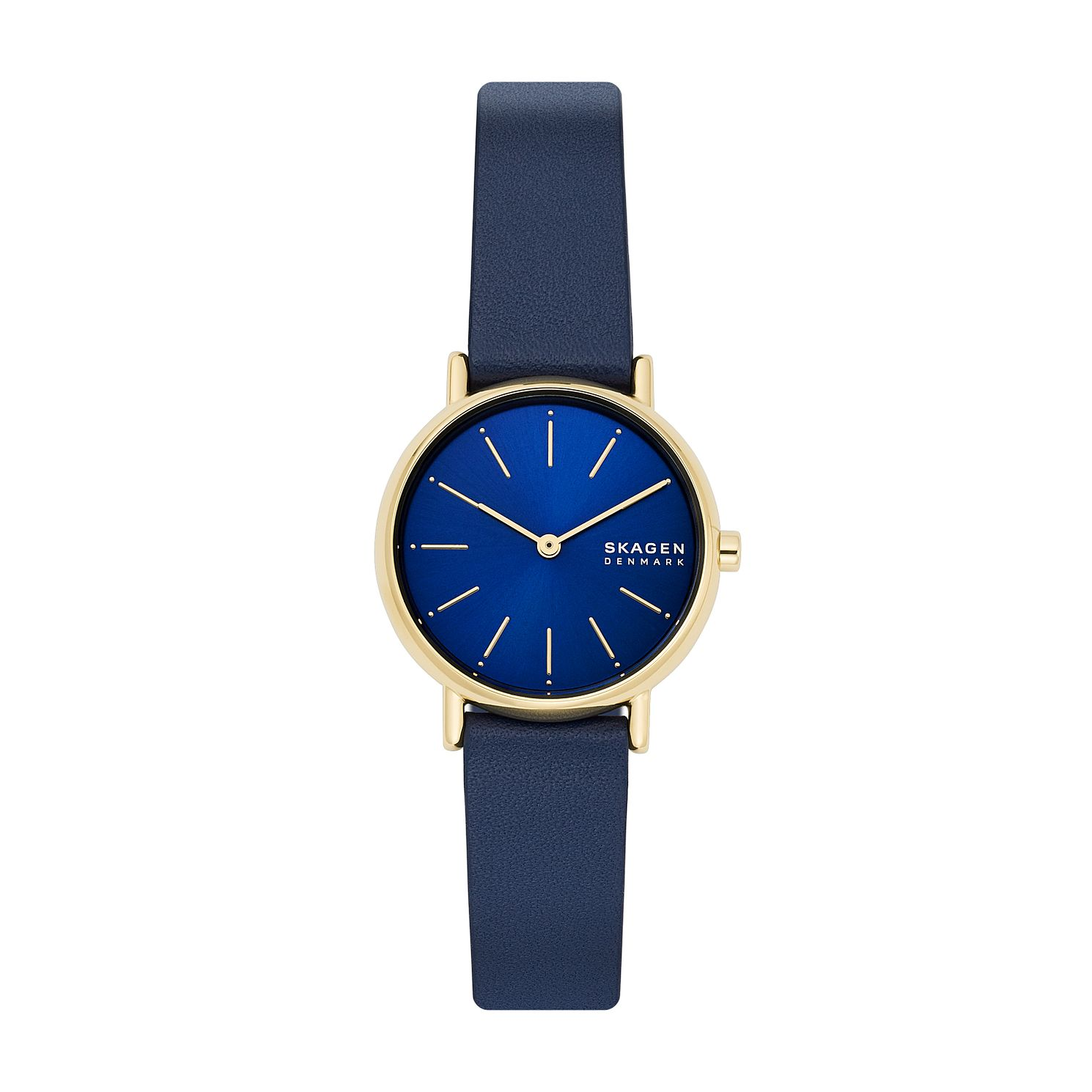Skagen Signatur Blue Leather Strap Watch - Product number 4852443
