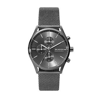 Skagen Gunmetal Grey Mesh Bracelet Watch - Product number 4852524