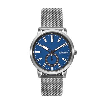 Skagen Men's Colden Blue Dial Stainless Steel Mesh Watch - Product number 4852532
