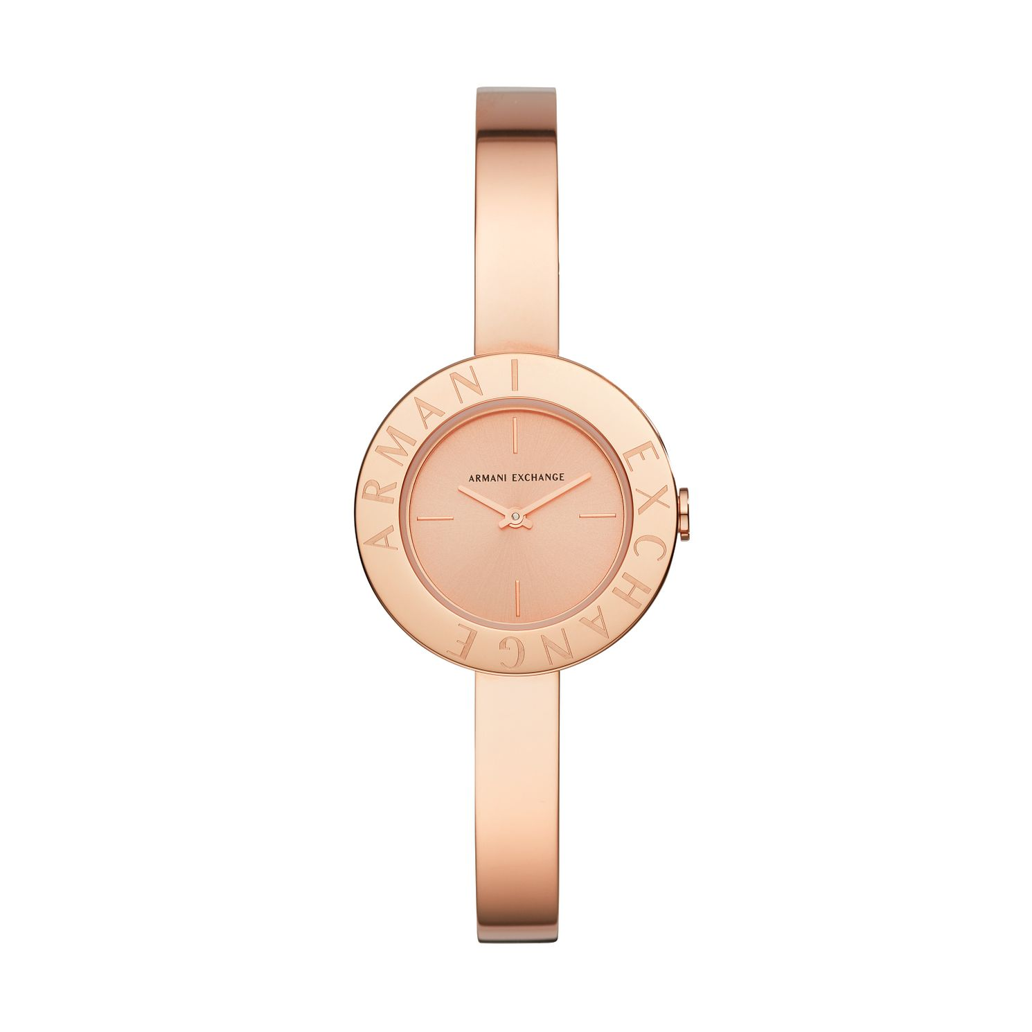 Armani Exchange Ladies' Rose Gold Tone Bracelet Watch - Product number 4852613
