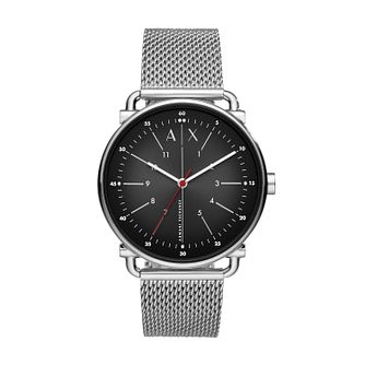 Armani Exchange Men's Stainless Steel Mesh Bracelet Watch - Product number 4852710