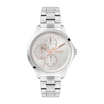 HUGO #Fearless Ladies' Stainless Steel Bracelet Watch - Product number 4852850