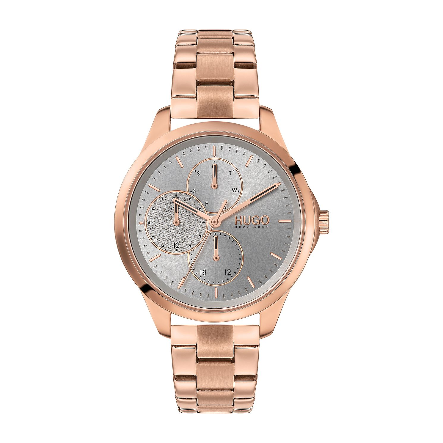 HUGO #FEARLESS Rose Gold Ion Plated Bracelet Watch - Product number 4852869