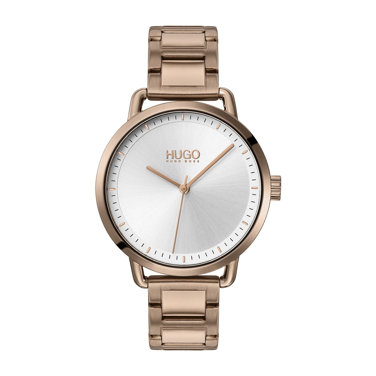 HUGO #MELLOW Coffee IP Bracelet Watch - Product number 4852885
