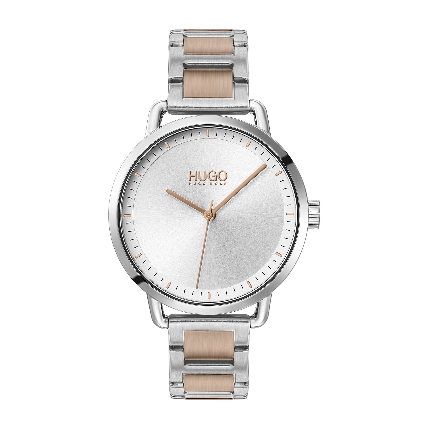 HUGO #MELLOW Two Tone Bracelet Watch - Product number 4852893