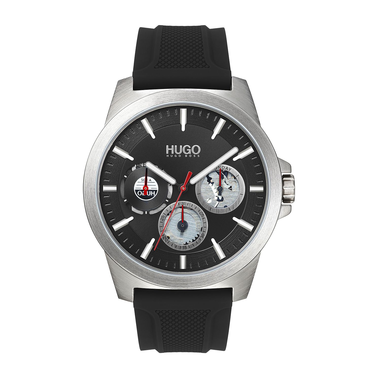 HUGO #TWIST Black Silicone Strap Watch - Product number 4852958