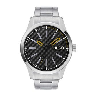 HUGO INVENT Men's Stainless Steel Bracelet Watch - Product number 4853032