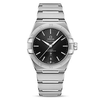 Omega Constellation Men's Stainless Steel Bracelet Watch - Product number 4857739