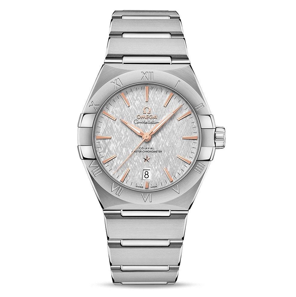 Omega Constellation Men's Stainless Steel Bracelet Watch - Product number 4857747