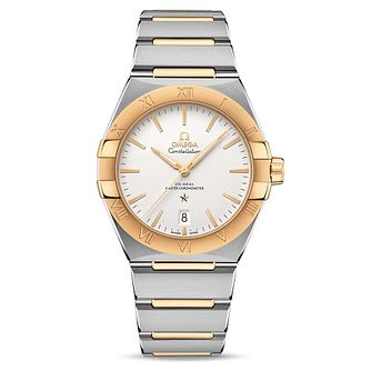 Omega Constellation Men's Two Tone Bracelet Watch - Product number 4857771