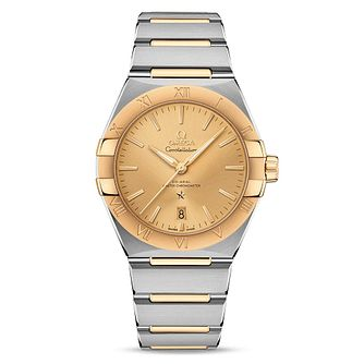Omega Constellation Men's Two Tone Bracelet Watch - Product number 4857798
