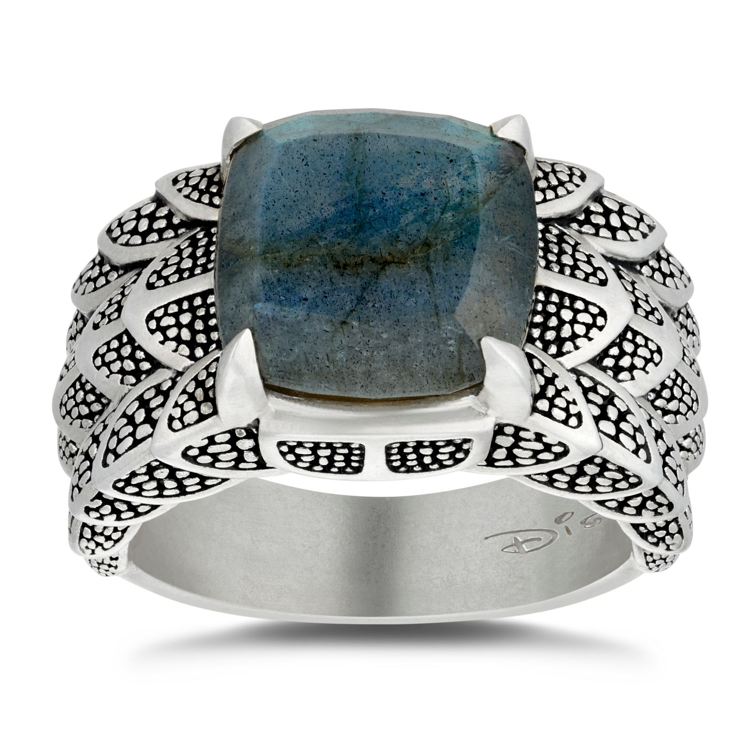 Enchanted Disney Fine Jewelry Silver Labradorite Dragon Ring - Product number 4859243