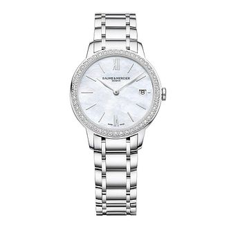 Baume & Mercier Classima Diamond Ladies' Bracelet Watch - Product number 4860268