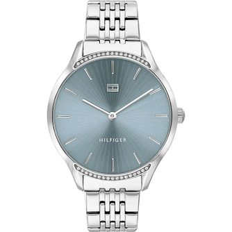 Tommy Hilfiger Crystal Stainless Steel Bracelet Watch - Product number 4872452