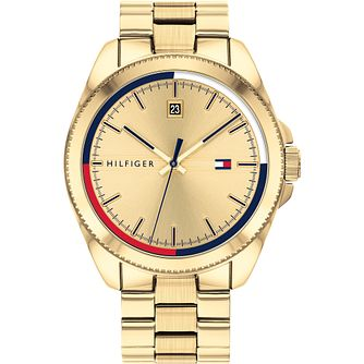 Tommy Hilfiger Men's Gold IP Bracelet Watch - Product number 4872517