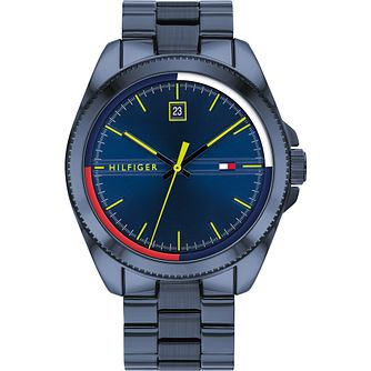 Tommy Hilfiger Men's Navy IP Bracelet Watch - Product number 4872525