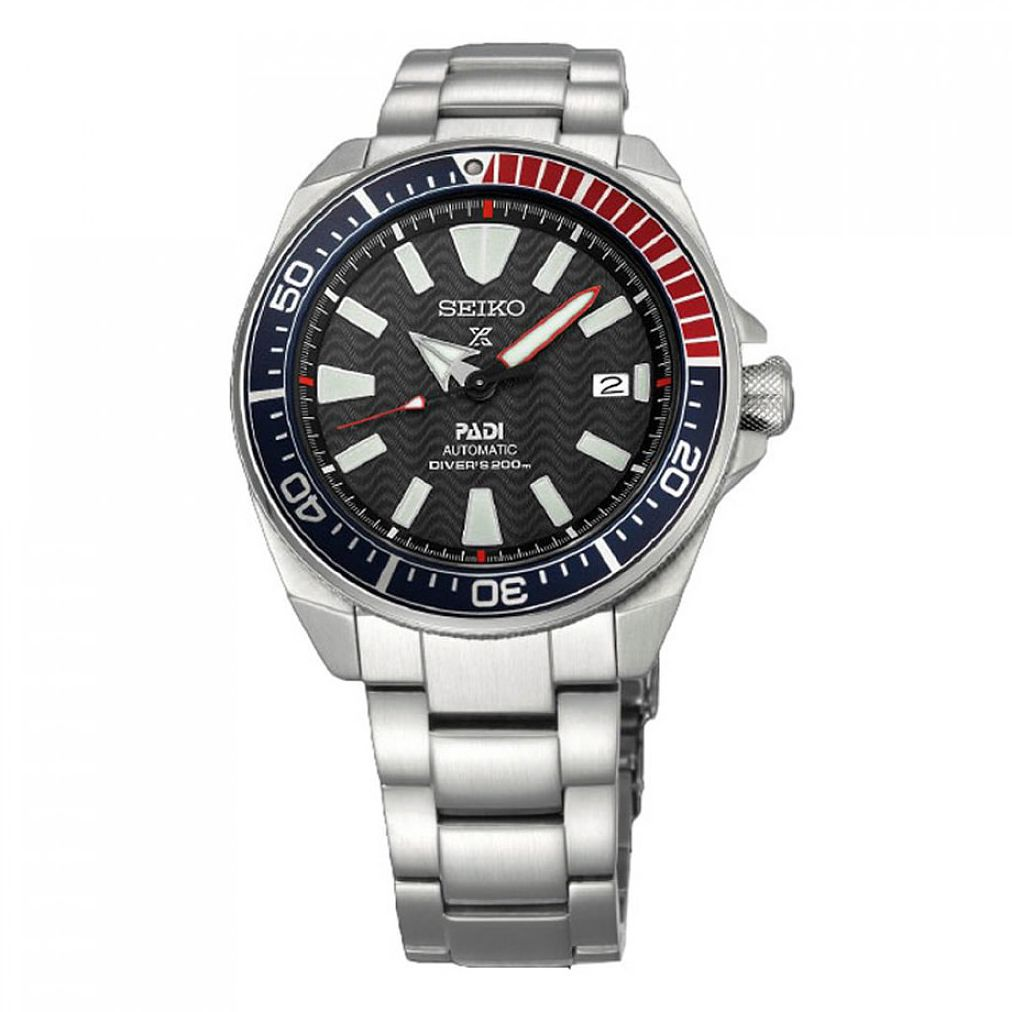 Seiko Prospex PADI Men's Black Dial Bracelet Watch - Product number 4872797