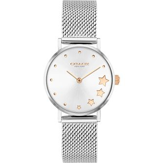 Coach Perry Ladies' Stainless Steel Mesh Bracelet Watch - Product number 4877357