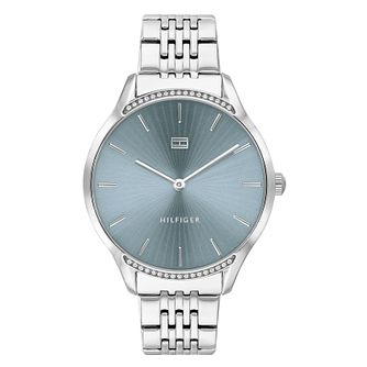 Tommy Hilfiger Gray Ladies' Stainless Steel Bracelet Watch - Product number 4877543