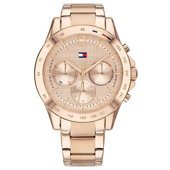 Tommy Hilfiger Haven Ladies' Rose Gold Plated Bracelet Watch - Product number 4877640